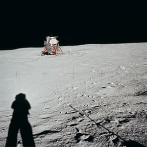 Photography books: Neil Armstong photographs his shadow on the moon