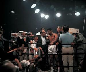 Photography books: Muhammad Ali, photographed at Ali vs Liston II, in GOAT