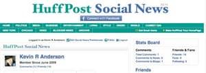 Huffington Post Social News