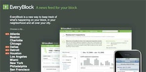 Everyblock hyperlocal news site