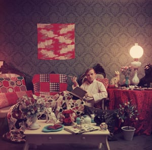 Photography books: Truman Capote in the book A Wonderful Time by Slim Aarons