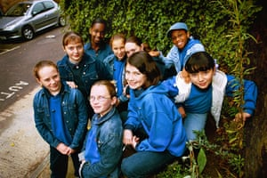 Girl guides 100th: Girl Guides in Stepney Green, 2002