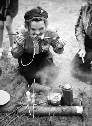 Girl guides 100th: 1952: Girl Guide International Camp - Beaconsfield