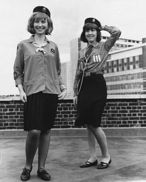 Girl guides 100th: 1965: Girl Guides Members Model Uniforms