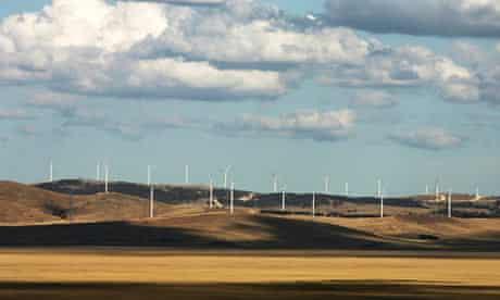 Australia wind turbine