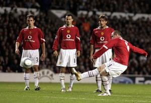 Wayne Rooney Top Ten: Wayne Rooney completes his debut hat-trick against Fenerbahce