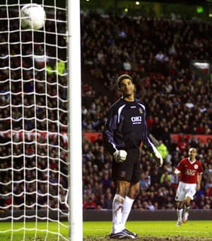 Wayne Rooney Top Ten: David James can only watch as Rooney's exquisite chip sails into the net