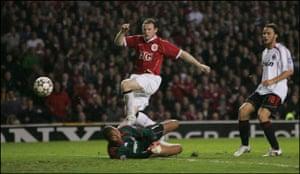 Wayne Rooney Top Ten: Rooney scores against AC Milan in the Champions League semi-final
