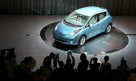 Nissan's Leaf eletric car