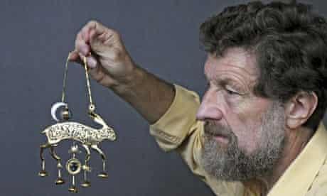 Kit Williams's golden hare