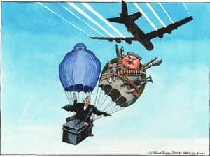 21.08.09: Steve Bell on presidential poll day in Afghanistan