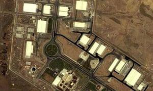 Iran's Natanz uranium enrichment facility