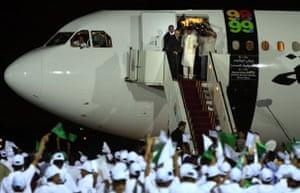 lockerbie: al-megrahi returns to Libya