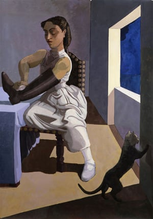 Paula Rego: The Policeman's Daughter, l987