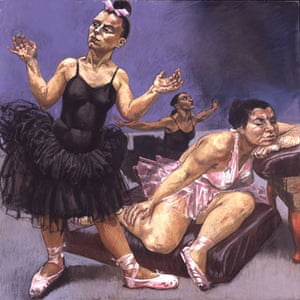 Paula Rego: Dancing Ostriches from Disney's Fantasia, 1995