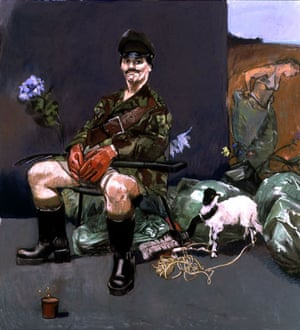 Paula Rego: The Interrogator's Garden, 2000