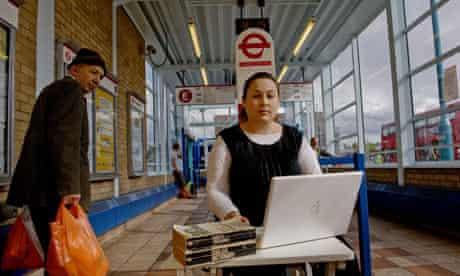 Tanya Gold at Edgware bus station