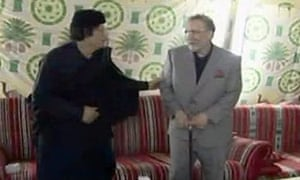 Abdel Baset al-Megrahi, Moammar Gadhafi