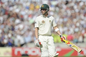 Ashes: 5th Test Day 4: Clarke out