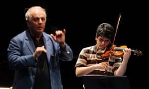 Daniel and Michael Barenboim