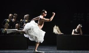 Sébastien Tassin as Poseidon in The Return of Ulysses by Royal Ballet of Flanders