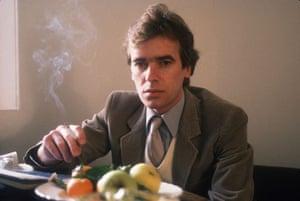 Martin Amis at 60: 1985: Martin Amis At Home In London England