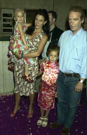 Martin Amis at 60: 2003: Martin Amis and his family