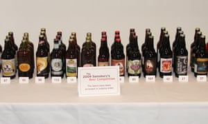 Sainsbury's beer competition 2009