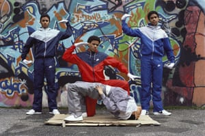 Tracksuits: Breakdancers in Brooklyn, New York City, New York, 1984