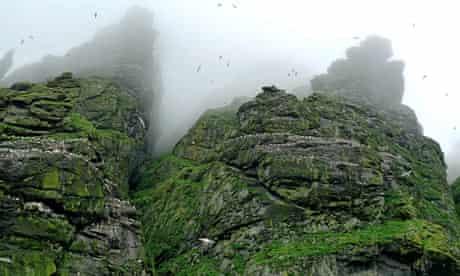 St Kilda rocky landscape