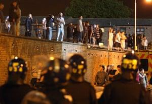 West Ham v Millwall: Violence outside West Ham stadium