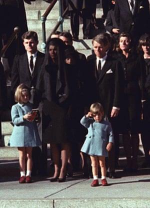 Edward Kennedy: 1963: John F Kennedy funeral