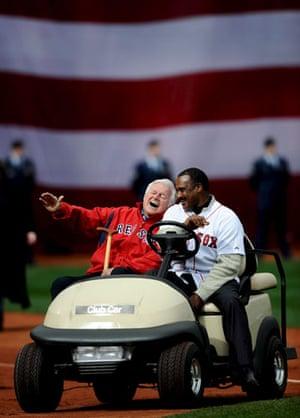 Edward Kennedy: 2009: Edward Kennedy and Boston Red Sox Jim Rice