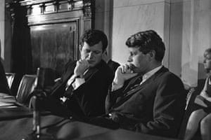 Edward Kennedy: 1967: Edward Kennedy and Robert Kennedy