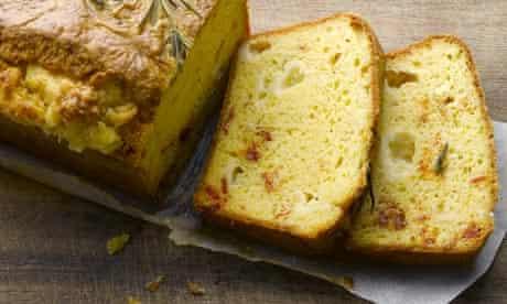 gruyere and rosemary cake