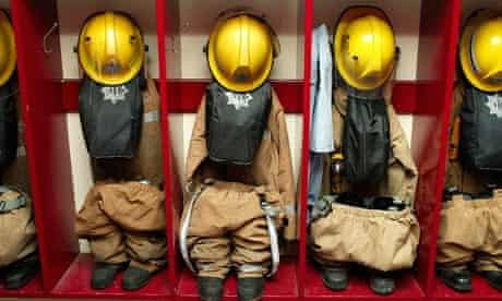 Fire fighters' uniforms