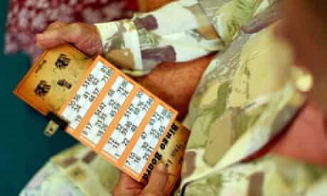 Playing bingo in Barnet