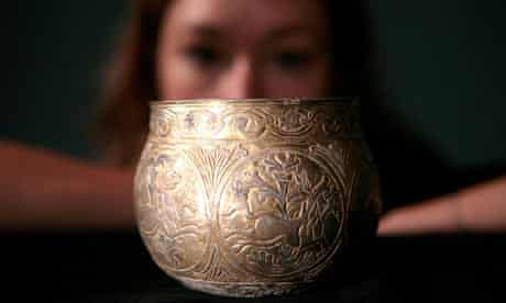 A Viking silver cup