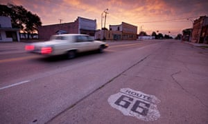 'Main Street' in Erick on Route 66