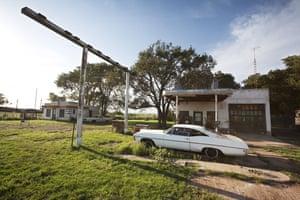 Route 66 Day 2: Glenrio in Texas