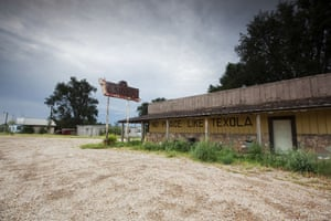 Route 66 Day 2: The Last Stop Bar, Texola, Oklahoma, a Route 66 ghost town