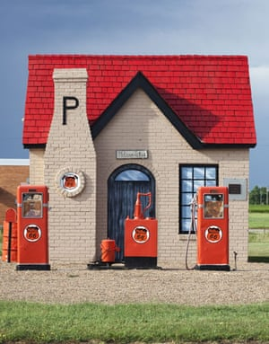 Route 66 Day 2: An old Phillips gas station in McLean, Texas