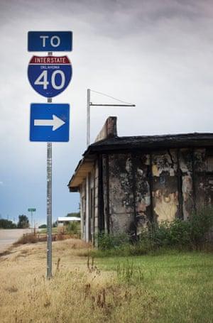 Route 66 Day 2: Texola, Oklahoma