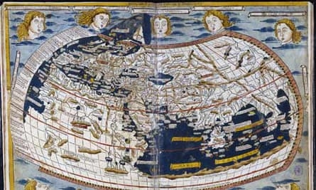 Ptolomeo's 15th century world map