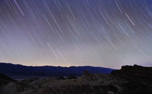 Photography competition: Death Valley star trails