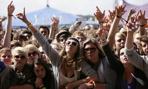 2009: The crowd at Reading Festival