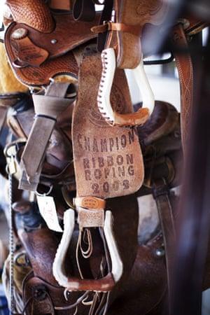 Route 66 Day 3: Saddlery at the Dollar Pawn Shop, Winslow, Arizona