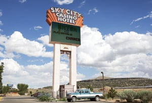 Route 66 Day 3: Sky City Casino, Acoma Indian Reservation. New Mexico