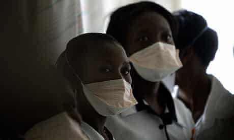 African nurses at a TB hospital