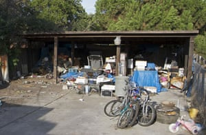 Jaycee Dugard kidnapping: The backyard of the home of Phillip Garrido who kidnapped Jaycee Dugard
